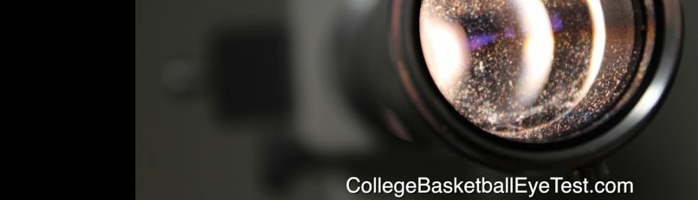 College Basketball Eye Test